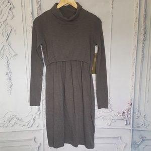 Mothers en Vogue Turtleneck Sweater Dress Size XS